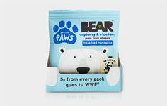 BEAR #packaging #bear #illustration #blue