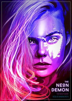 The Neon Demon Poster – Illustration and Graphic Design