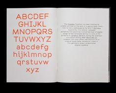 Ein Chapeau Specimen & die Brezel Grotesk | Slanted - Typo Weblog und Magazin #typography #alphabet #sans serif #fluoro