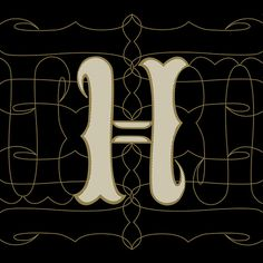 H hand lettering #type #handlettering #a-z #pattern