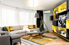 Trendy Urban Apartment by Momi Studio - #decor, #interior, #homedecor, #interiordesign