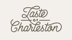 Taste of Charleston by J Fletcher Design #of #design #fletcher #taste #charleston #typography
