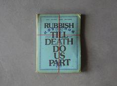 Holycrap! What Rubbish Designs! | AIGA Eye on Design #rubbish #print #book