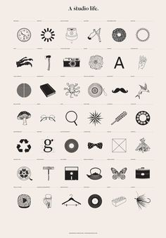 3 | Infographic: A Graphic Tribute To The Designer's Life | Co.Design: business + innovation + design #infographic #icons