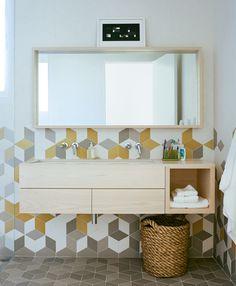floating sink/shelf