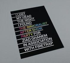 Ziad Ghanem #rainbow #poster #gradient