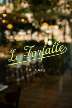 One & Other » Le Farfalle