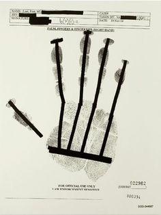 "quik: "" JENNY HOLZER PALM, FINGERS & FINGERTIPS // LEFT HAND (PALM ROLLED), 2007OIL ON LINEN203 X 157,5 CM """