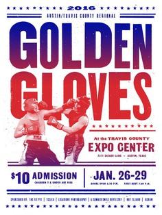 Golden Gloves 2016 Poster