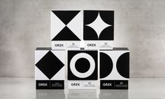 Awesome Grek vintage styled packaging by Interabang