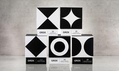 Awesome Grek vintage styled packaging by Interabang