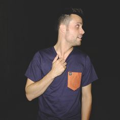 Polka Pocket #model #profile #apparel #shirt #pocket #photography #tee #fashion