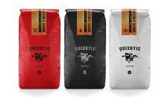 Quixotic #packaging #print #coffee