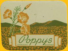 coqueterías - retrogasm: Vintage Poppy's condoms… I wonder if...