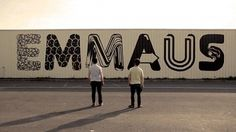 Painting for Emmaus | Fubiz™ #graffiti #outside #typography