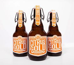 lovely package citrus gold 1 #design #graphic #package #bottle