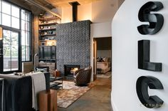 Industrial Loft With Gothic Accents