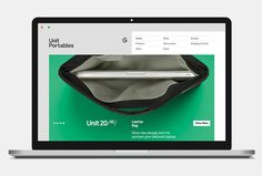 Unit Portables by Kurppa Hosk #branding #website