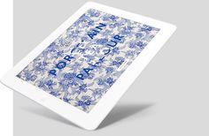 #WeLoveNoise #PorcelainTeaParlour #website #tablet