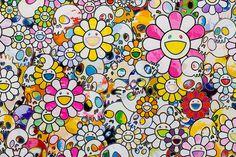 top-artists-of-2014-takashi-murakami #murakami #takashi #superflat #modern #contemporary #painting #artist