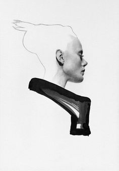Rick Owens.jpg (JPEG Image, 517 × 740 pixels) #fashion #illustration