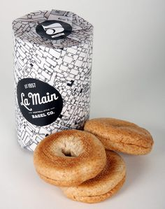 La Main's Bagel Packaging
