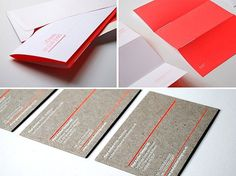 FFFFOUND! | ManvsMachine | A Design, Direction & Animation Company #envelopes #branding #stationery #namecards #letterheads