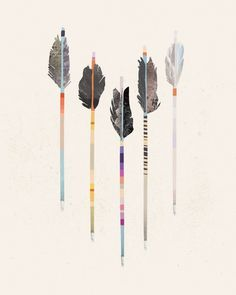 julia kostreva #arrows #kostreva #illustration #julia