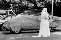 Design Free Thursday // Elliott Erwitt's Phototoons. | yellowtrace blog » #wedding #photo #situation #cover #bride #photography #car