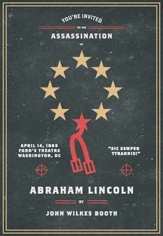 Invitation To An Assassination #lincoln #abraham #assassination #invitation