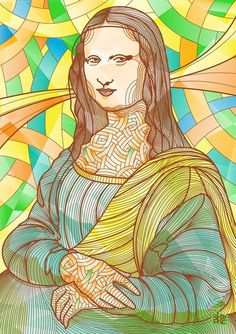 Gioconda Project #illustration #gioconda #art