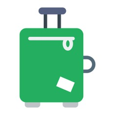 See more icon inspiration related to luggage, suitcase, baggage, travelling and Tools and utensils on Flaticon.