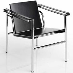 lc1_black_hide.jpg (JPEG Image, 399x400 pixels) #sling #1928 #chair #corbusier #le #lc1
