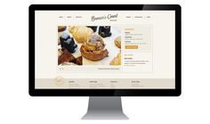 Brown's Court Bakery Website | Nudge #stamp #bakery #branding #design #typography