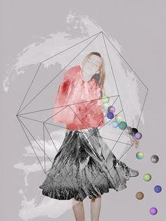 """DREAM""© Ceren Kilic 2012 #kilic #ceren #print #geometric #illustration #art"