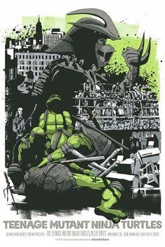 Cool Stuff: Exclusive Mondo 'Teenage Mutant Ninja Turtles' Poster By Jeff Proctor, Plus 'Santa Sangre' | /Film #turtles #ninja #illustration