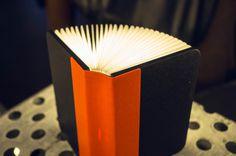 Portable Book-Shaped Lamp