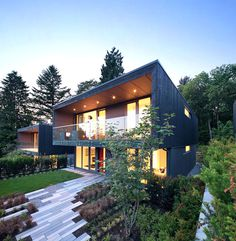 House Project for the Canadian Suburban – Modern and Full of Light - #architecture #house house design, dream home