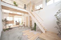 Small Japanese Gardens / Kofunaki House #interiors #architecture