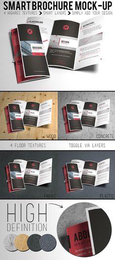 Free HD Trifold Brochure Mockup