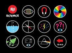 Work | Museum Studio – Art Direction & Graphic Design #logo #science #symbols #museum studio #alga