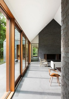 Slate House in a Maryland Forest by Ziger/Snead 4