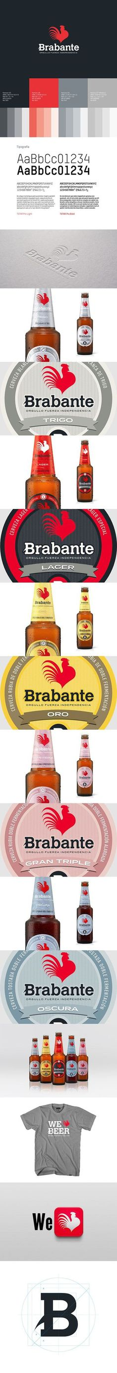 Brabante new visual identity and branding | Designer: TritonePD #graphic design #design #logo #branding #packaging
