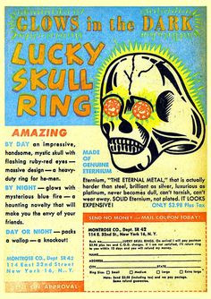 old ad #skull