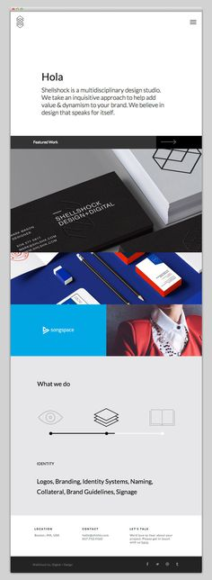Shellshock #layout #website #web #web design