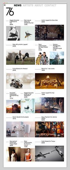 76 Management #design #website #grid #layout #web