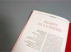 LES ÉDITEURS DU NORD #font #layout #editorial