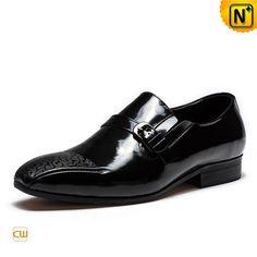 Monk Strap Patent Leather Dress Shoes for Men CW763313 #monk #dress #shoes #strap
