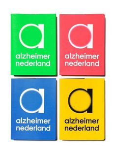 Studio Dumbar: Alzheimer Nederland Visual Identity #logo