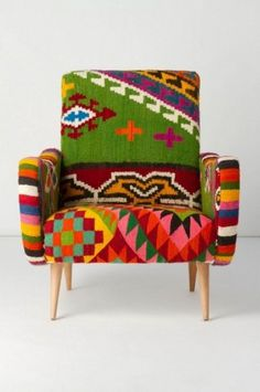 New for you — Svpply #furniture #fabric #pattern #armchair